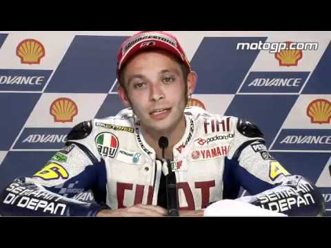 Valentino Rossi Interview After The Sepang 2010