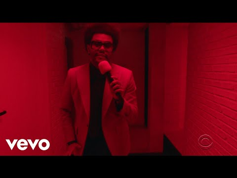 The Weeknd – Heartless Live on The Late Show with Stephen Colbert / 2019