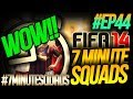 NEXT GEN FIFA 14 ULTIMATE TEAM | 7 Minute Squads #EP44 - IF OMG!!!!! WOW