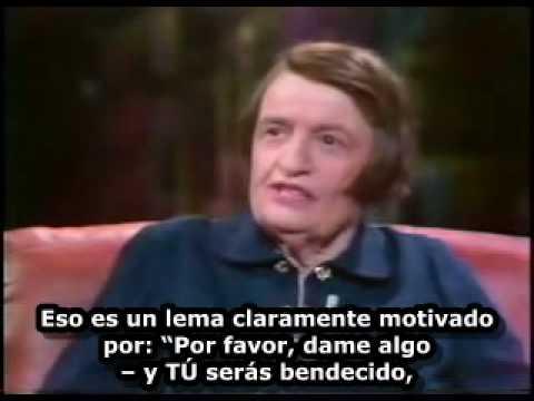 Ayn Rand, entrevista [3 de 3] con Tom Snyder