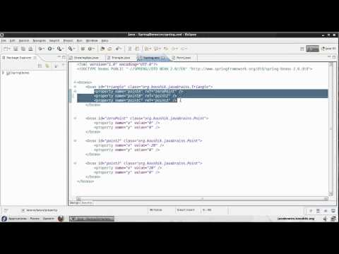 Spring Tutorial 09 - Initializing Collections