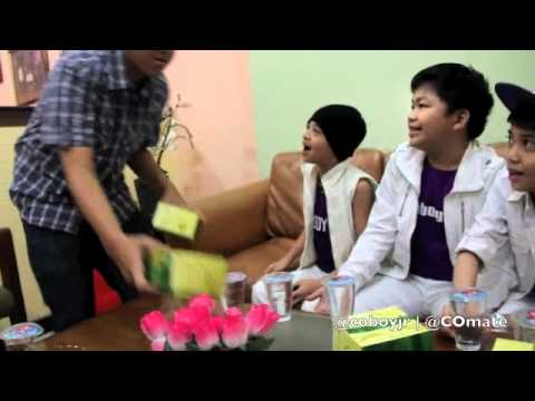 Coboy Jr. Hitzteria Indosiar 15 Oktober 2011 - Behind The Scene