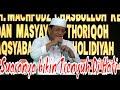 Ust. H. Muammar ZA di Pondok Pesantren Al Huda Jetis Kebumen Part 1