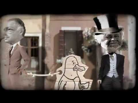 """Il Pezzo Mancante"" - Gianni e il Pinguino - (final voice-over and Gianni Agnelli's speech)"
