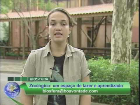 Programa Biosfera - Zoológico de São Paulo parte 2 - Boa Vontade TV
