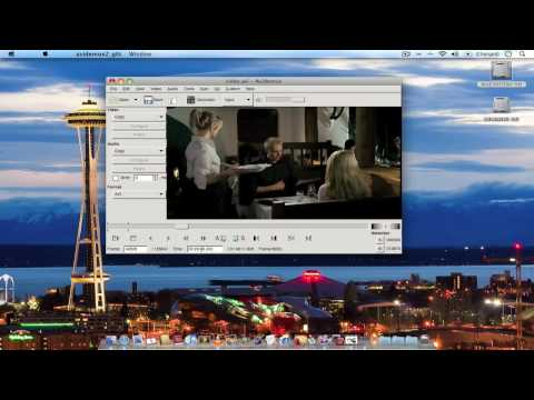 Avidemux: How to split (trim) video files quick and easy (mac)