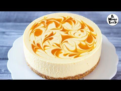 No-Bake Mango Cheesecake | El Mundo Eats recipe #55