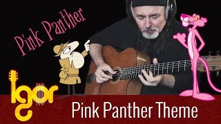 Pink Panther Theme - Igor Presnyakov - acoustic fingerstyle guitar