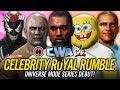 WWE 2K18 Celebrity Universe Mode - 30 MAN CELEBRITY ROYAL RUMBLE!! (CWA Universe w/ newLEGACYinc!!)