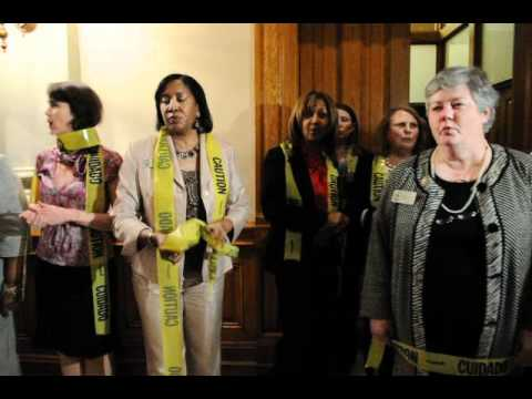 Georgia Democratic Women Representatives Abortion Protest