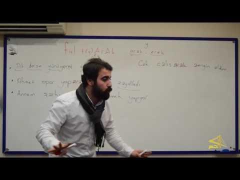 """تعلم اللغة التركية مع الأستاذ ابراهيم اسكي اوجاك """"الحلقة 20 """""""