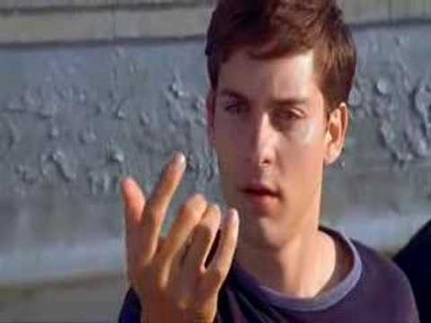 The Funniest Scene Ever In Spiderman One