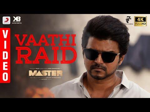 Master - Vaathi Raid Video | Thalapathy Vijay | Anirudh Ravichander | Lokesh Kanagaraj