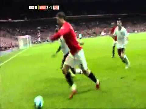 Cristiano Ronaldo Tricks against Arsenal -MkkyONj8s-E