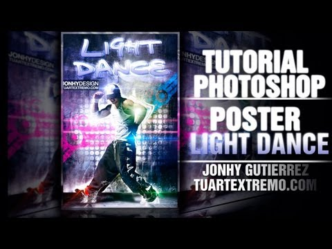 Tutorial Photoshop - Poster Light Dance