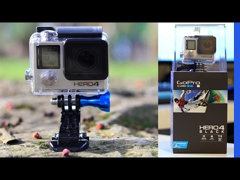 GoPro HERO4 Black : Déballage / Unboxing - Test 4K