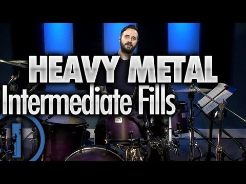 Heavy Metal Drumming - Intermediate Drum Fills