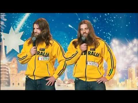 The Nelson Twins - Australia's Got Talent 2012 audition 6 [FULL]
