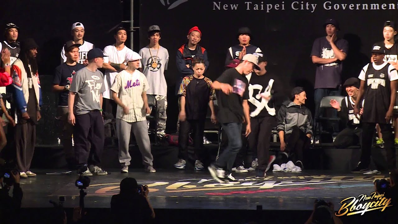 All B Boy Judges Solo Cypher | 2014 New Taipei BBoy City新北市國際街舞大賽
