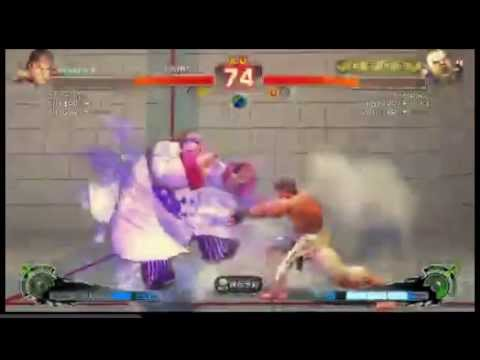 SSF4 AE 2012: Daigo Umehara (Ryu) vs Inco (Rufus) - Endless Battle