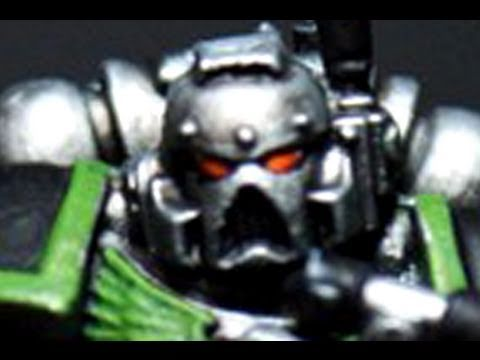 How to paint Doom Legion Space Marine by Lester Bursley