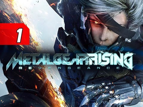 Metal Gear Rising Revengeance Walkthrough - Part 1 Guard Duty Let's Play Gameplay Commentary