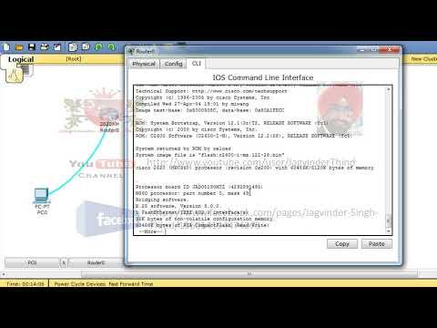 Cisco Router Reset Password Breaking Password in Hindi
