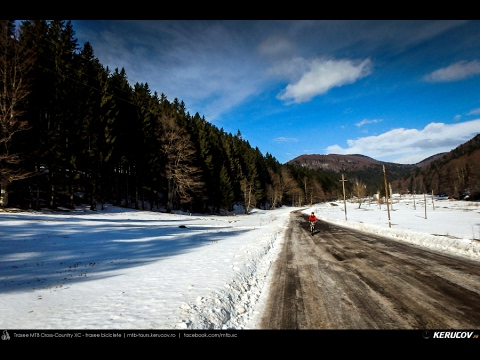 VIDEOCLIP Traseu MTB Busteni - Valea Cerbului - Valea Spumoasa - Poiana Tapului - Sinaia