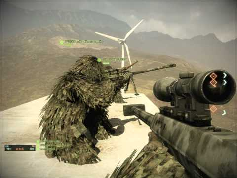 Bad Company 2 Heavy Metal BEST SNIPER SPOT