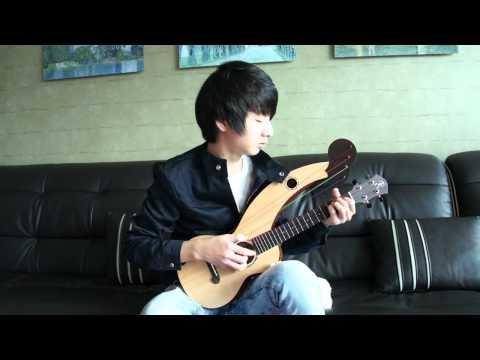 (2ne1) Lonely -  Sungha Jung (Harp Ukulele)
