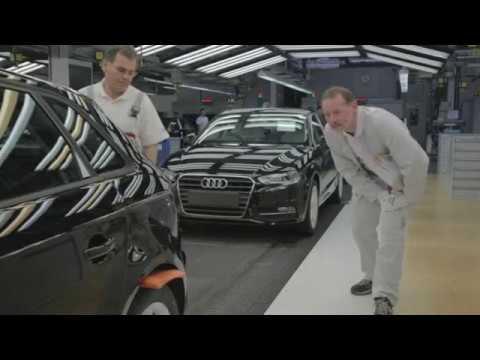 Audi A3 8V Produktion