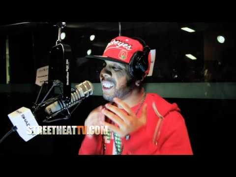 JR Writer Freestyling At Shade 45 with Kay Slay ***Street Heat Exclusive***