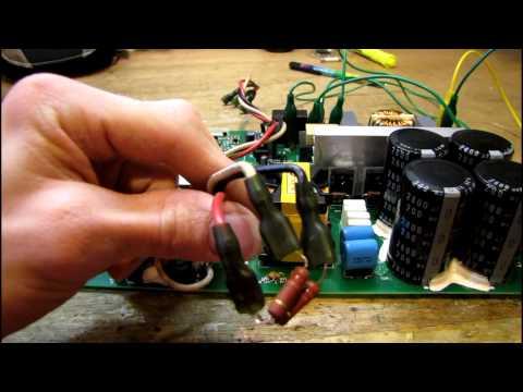 Yamaha P5000S Amplifier Power Supply Repair