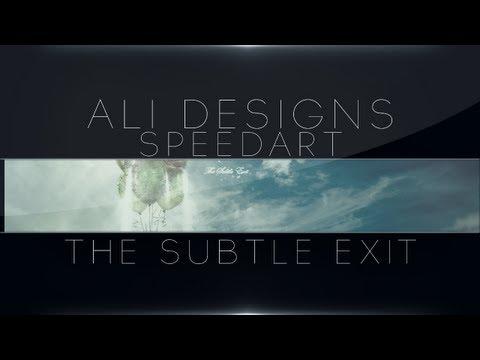 The Subtle Exit | Speedart | Skillfile Entry. (3rd)