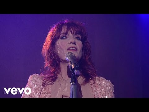 Florence   The Machine - Cosmic Love (Live on Letterman)