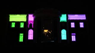 3D Projection on the Hunter Museum mansion – RiverRocks 2011