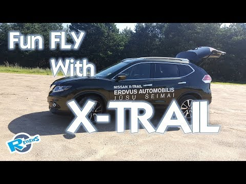 Free time, DRONE Fun with Nissan X-trail rolls - UCv2D074JIyQEXdjK17SmREQ