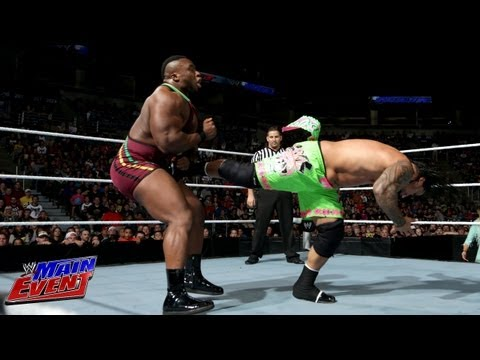 The Usos vs. Big E. Langston & Fandango - WWE Main Event, Sept. 25, 2013