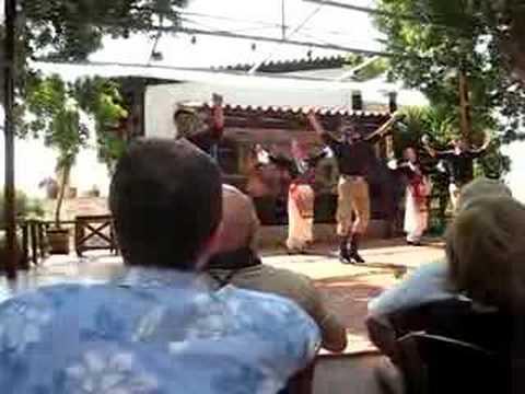 Greek Folk Dancing and Music in Crete