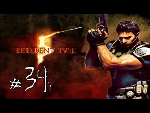 Resident Evil 5 Walkthrough / Gameplay with LazyCanuckk Part 34 - Looks Familiar