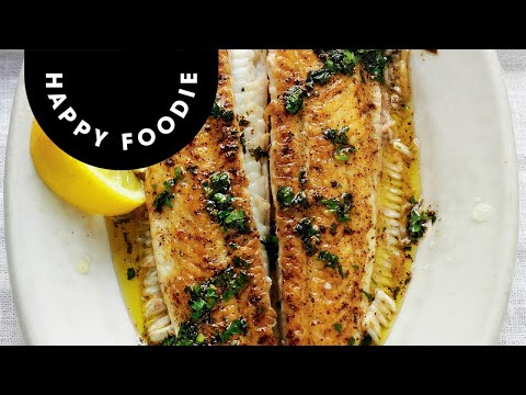 Rick Stein Shows How to Cook and Prepare Dover Sole