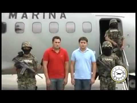 Video de la Marina de la captura del hijo del Chapo Guzmán