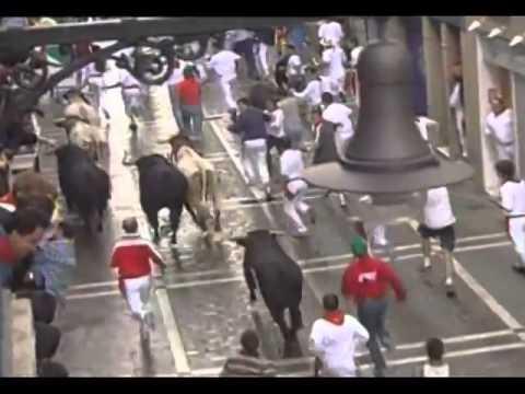 Encierro San Fermin Pamplona del día 13 de julio de 2001