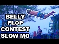 belly flop competition 2017!!! *super slow motion* | joogsquad ppjt