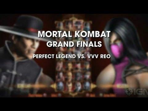 Mortal Kombat: Evo 2011 Grand Finals - Perfect Legend vs. REO