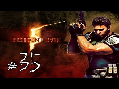Resident Evil 5 Walkthrough / Gameplay with LazyCanuckk Part 35 - Chris Vs. Chaingun Charlie