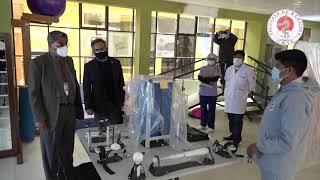 AUTORIDADES DE LA FACULTAD DE MEDICINA VISITAN INSTALACIONES DEL HOSPITAL DE 2DO. NIVEL VIACHA