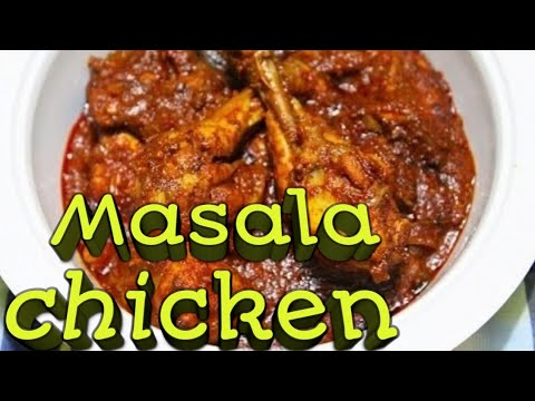 """How to make """"masala chicken"""" at home with 3.9 Million + views(कैसे बनाए मसाला चिकन घर पर??)"""