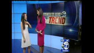 "Grace Lee On Eyewitness News  ABC - Frozen ""Let It Go"""
