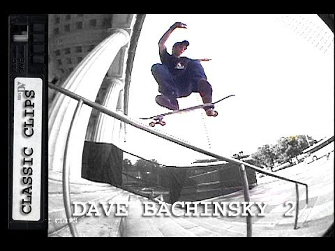 Dave Bachinsky Skateboarding Classic Clips #147 Part 2